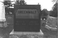 Joseph F. & Mary G. Greenwalt (bagpiper) Tags: cemetery graveyard maryland gravestone holyfamily baltimorecounty randallstown oldholyfamilyromancatholicchurchrandallstownbaltimorec marygairheartgreenwalt josephfgreenwalt