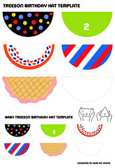 Treeson and baby treeson birthday hat template (Bubi Au Yeung) Tags: illustration painting toys artwork drawing character vinyl craft felt exhibition plush artists figure download ren contribution 2yearsold birthdayhat thankyousomuch crazylabel treeson bubiauyeung labyellow bigthanks born2begreen hattemplate deeplyappreciate wonderfulcontribution
