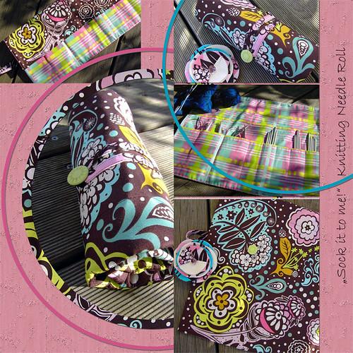 Custom Knitting Needle Roll