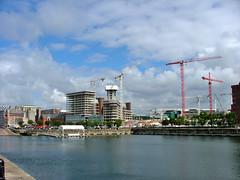 Building Liverpool (coyote-37) Tags: building liverpool construction crane cranes albertdock coyote37 capitalofculture2008