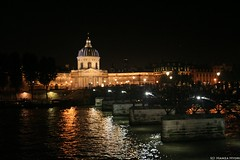 Institut de France & Pont de Arts on the river Seine, Paris - by Hamza Hydri