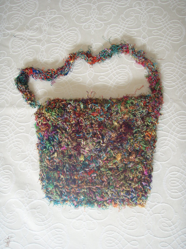 sari bag with handle