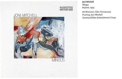 """joni mitchell, """"mingus"""""""