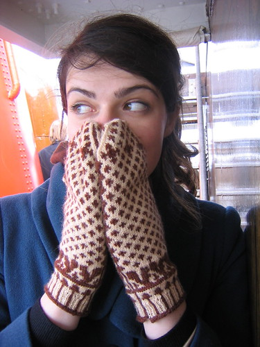 me sniffing yarn