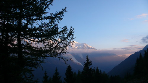 Mont Blanc from Flegere