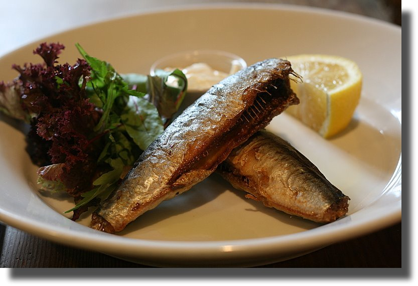Crispy Sardines with Aioli