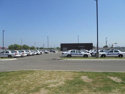 Police vehicle fleet at Del Rio, TX
