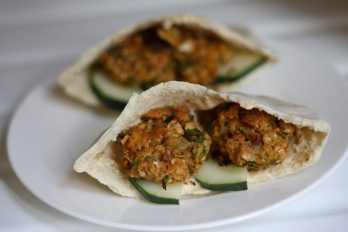 Baked Falafel from Chow Vegan