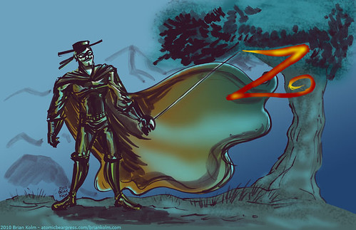 zorro colored version