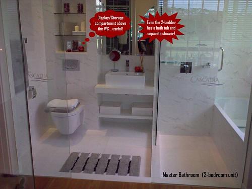 master bath (2BR)