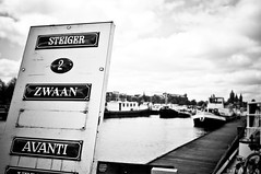 (Ovidiu H.) Tags: city sky bw holland netherlands amsterdam clouds river canal spring europe view historic tokina1224f4 nikond300