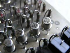 Transistor closeup