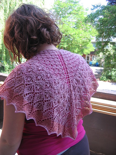 My Sister's birthday shawl