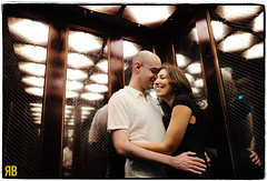 Every Photo Has a Story (Ryan Brenizer) Tags: nyc newyorkcity wedding woman man love engagement nikon heather soho elevator noflash jordan gothamist sohogrand davechappelle d3s 24mmf14g