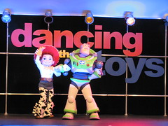 Dancing with the Toys show at the Toy Story Fun Zone (Castles, Capes & Clones) Tags: jessie toystory buzzlightyear disney hollywood pixar elcapitan disneycharacters elcapitantheatre disneylandcastmembers toystory3 elcapitanentertainmentcentre toystoryfunzone