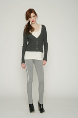 Qi New York Fall 2010 - Mirage Classic RIb Cardigan (Qi New York) Tags: fall collection button cashmere rib cardigan qi 2010 qicashmere qinewyork