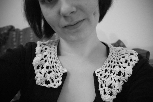 new homemade crochet collar :)