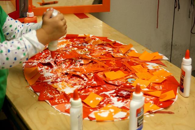 pumpkins at preschool - 1
