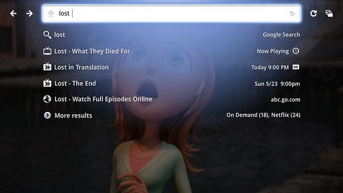 GoogleTV-Search