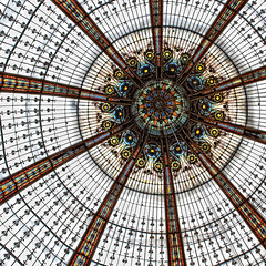 Lafayette (Mr sAg) Tags: paris france glass shop square store interestingness interesting haussmann circles stainedglass explore artnouveau dome galerieslafayette frontpage consumerism sag concentric 1893 simonharrison explored nikond90 thophilebader alphonsekahn mrsag