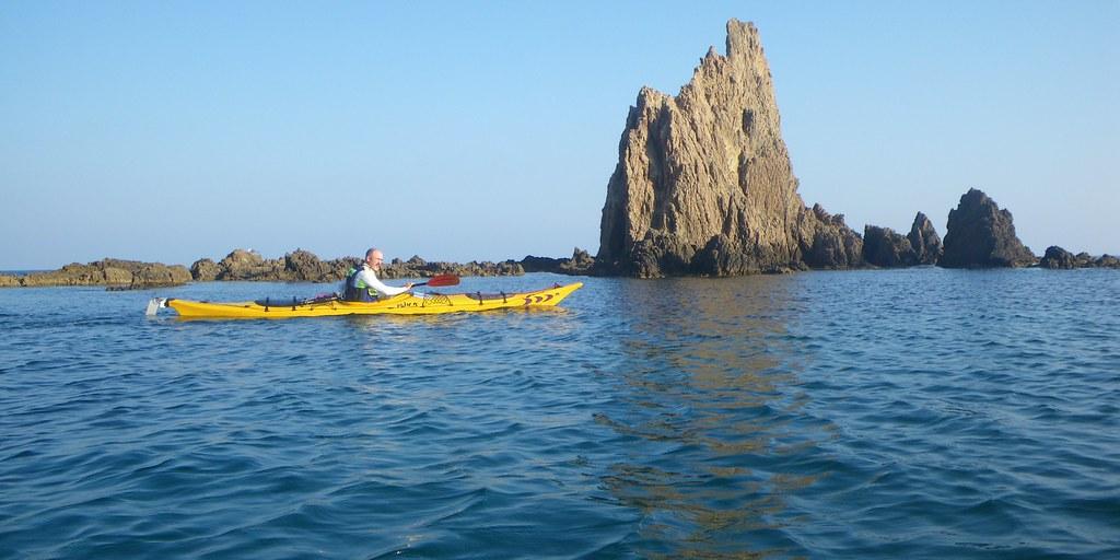 Cabo de Gata en kayak 508