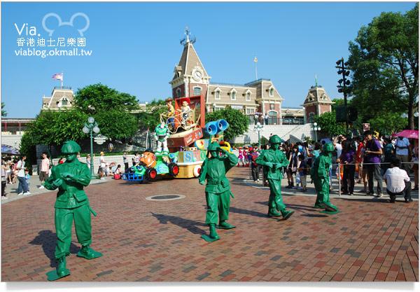 【香港迪士尼】跟著via玩香港(3)~迪士尼卡通人物歡樂巡遊38