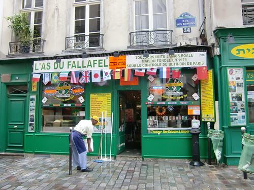 L´AS Du FALLAFEL Rue Des Rosiers