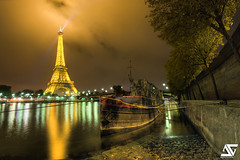 """Nina"" (A.G. Photographe) Tags: sky cloud fish france reflection tower seine night liberty freedom nikon europe tour cloudy eiffeltower eiffel fisheye reflet ciel reflect liberté toureiffel nina capitale nikkor nuage péniche reflexion nuit quai barge français hdr anto xiii statuedelaliberté 16mmfisheye d700 antoxiii hdr7raw flickrsportal"