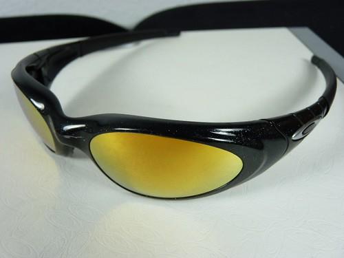 ddb3fc836d Oakley Eye Jacket 2.0 Metallic Black w 24K Gold Irid - a photo on ...