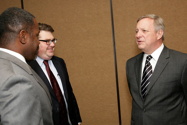 Chairman Logsdon and Senator Durbin