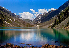 KANDOL LAKE (PHOTOROTA) Tags: pakistan mountain lake reflection nature landscape abid concordians