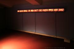 documenta 12 | Gonzalo Diaz / Al calor del pensamiento (Bei der Glut des Denkens) | 1999 | Neue Galerie