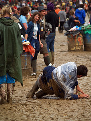 Glastonbury Sunday 1 (Mr November) Tags: boy people festival mud accident sunday glastonbury somerset falling glasto fallingover slipping worthyfarm glastonburyfestival2007 upcoming:event=132796 oooopsy