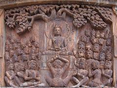 Terracotta at Japanese Peace Pagoda, Darjeeling