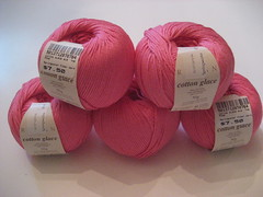 Pink Cotton Glace