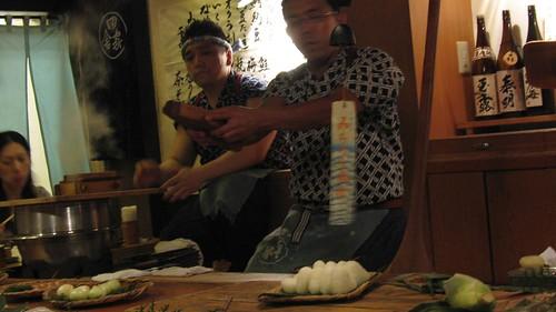 Dinner in Naka-meguro