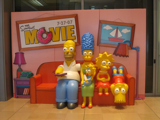 The Simpsons Movie Couch!