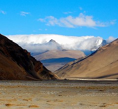 Flag Clouds, Tibet (^^^ ^^^) Tags: china favorite mountain mountains highlands nikon bravo flickr plateau culture tibet mount highland tibetan  everest himalayas lanscape mountian  mounteverest gao amateurphotographer startrooper aplusphoto asianphotographer chinesephotographer amateur