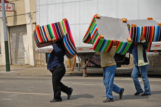 Suddenly, everyone in San Francisco is wearing a new and extremely fashionable Peruvian chair hat