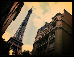 La Tour Eiffel (Silvr) Tags: paris france streets tower french europe eiffel romance latoureiffel dreams wandering franc francophilia internationalgeographic lptowers