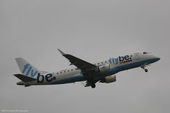 Flybe Embraer E175 G-FBJI at Isle of Man EGNS 21/01/16 (IOM Aviation Photography) Tags: man isle embraer flybe e175 egns 210116 gfbji