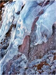 frozen rock V (kaleidoskopspeicher) Tags: mountain outdoor berge ontour eiskristalle icecristals