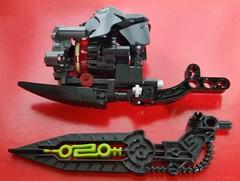 Kloserd Weapons (Folisk) Tags: factory lego hero bionicle moc ccbs hurmidik