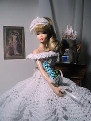 Dream lover (doll4life14) Tags: wedding fashion evening doll dress ooak crochet barbie gown mattel enchanted repro