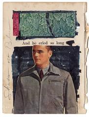 He Cried (Depression Press) Tags: art collage graphicdesign artwork crying cry boysdontcry vintagebook depressionpress