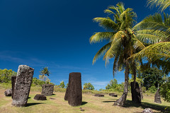 Ngarchelong (Warriorwriter) Tags: blue stone day clear tropical monolith palau pw oceania babeldaob ngarchelong
