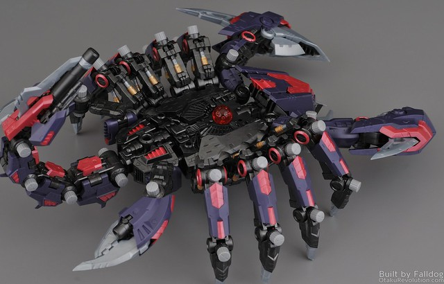 HMM Zoids - Death Stinger Review 1 by Judson Weinsheimer