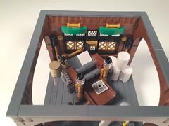 - Top view (Vedauwoo) Tags: newspaper lego report printing press bastion bobs moc cowlug otchet
