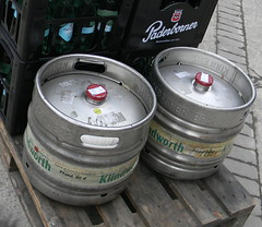 Paderboner lager beer kegs Klindworth Minden Germany 21st December 2013  21-12-2013 10-03-16 (dennoir) Tags: beer germany december 21st minden lager kegs 2013 100316 klindworth 21122013 paderboner