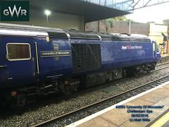 GREAT WESTERN RAILWAY 43053 AT FRONT OF 0914 FROM SWINDON AT CHELTENHAM SPA  06022016 (MATT WILLIS VIDEO PRODUCTIONS) Tags: from great swindon railway front western spa cheltenham 0914 at of 43053 06022016